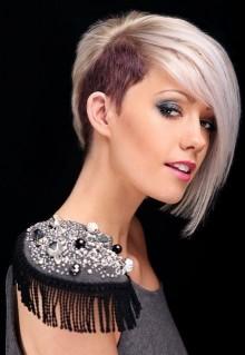 Tagli capelli corti medi e lunghi sidecut e undercut 2013