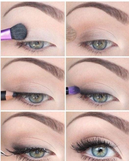 Trucco leggero e naturale per occhi verdi e azzurri