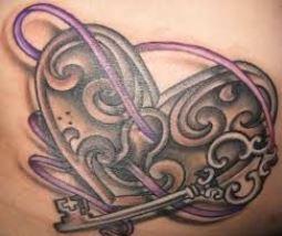 Tatuaggio lucchetto a forma di cuore con chiave significato e immagini Tatuaggio lucchetto a forma di cuore con chiave significato e immagini - Tatuaggio lucchetto con chiave: significato e immagini