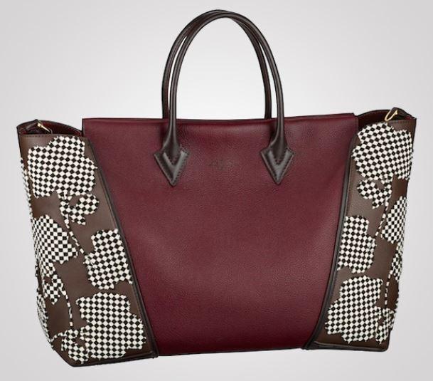 Borsa Louis Vuitton W Bag Fleur Tuffetage inverno 2013 2014 prezzo 4650 dollari