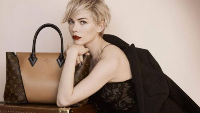 Nuova W Bag Louis Vuitton Monogram Tuffetage inverno 2013 2014 prezzo 4250 dollari Campagna pubblicitaria Louis Vuitton W Bag con Michelle Williams - Campagna pubblicitaria Louis Vuitton W Bag con Michelle Williams