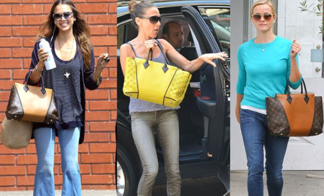 Nuova W Bag Louis Vuitton Monogram Tuffetage inverno 2013 2014 prezzo 4250 dollari Le star con la nuova W Bag di Louis Vuitton - Le star con la nuova W Bag di Louis Vuitton