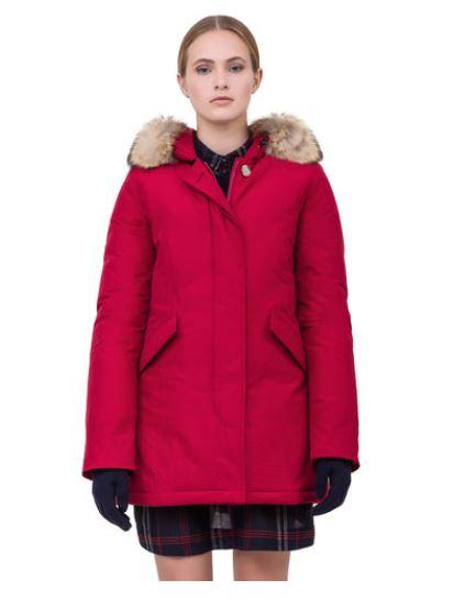 Arctic Parka rosso donna inverno 2014 prezzo 599 euro