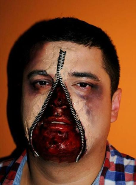 Make up Halloween da Zombie con ferite