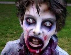 Make up Halloween da zombie
