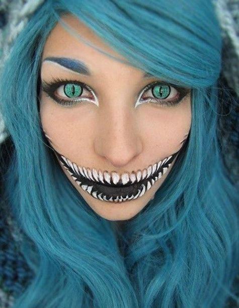Make up Halloween idea