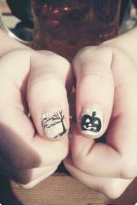 Nail art per Halloween galleria fotografica di decorazione unghie