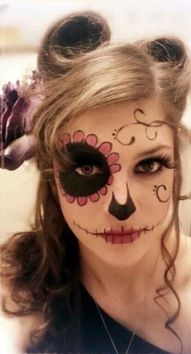 Trucco donna per Halloween