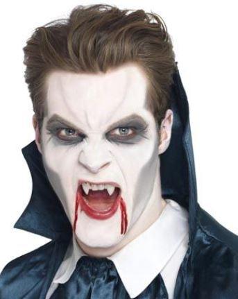 Trucco uomo Halloween da dracula