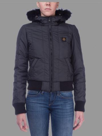 Bomber donna Refrigiwear catalogo inverno 2013 2014 prezzo 359 euro mod Soft Blunt