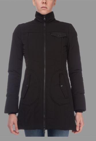 Giaccone sfiancato Refrigiwear collezione inverno 2013 2014 prezzo 359 euro mod Lady Maple