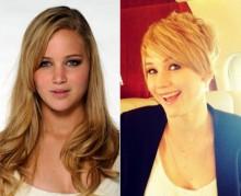 Nuovo taglio di capelli Jennifer Lawrence