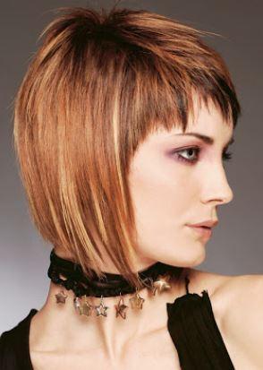 Foto di tagli di capelli sfilati
