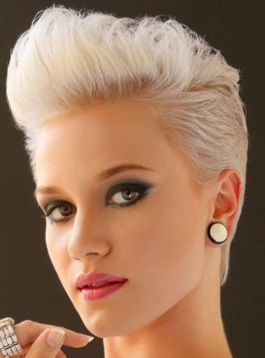 Tagli di capelli corti rasati ai lati