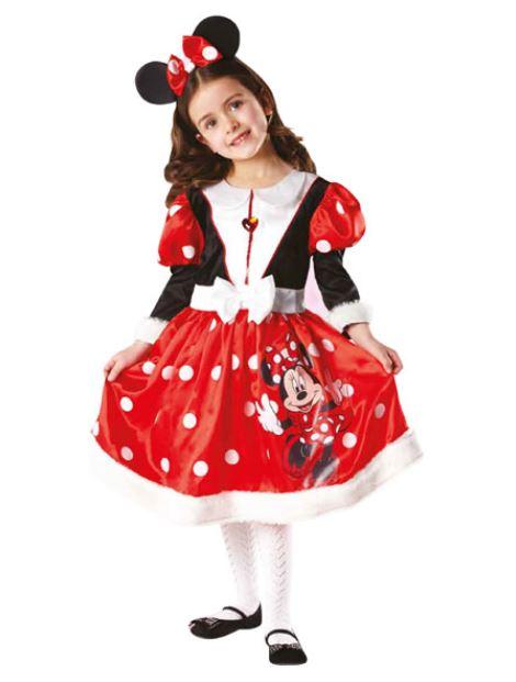 Abito Carnevale 2014 da bambina da Minnie Abito Carnevale 2014 da bambina da Minnie - Costumi Carnevale 2014 bambini da Toys: Peppa Pig, Barbie, Batman