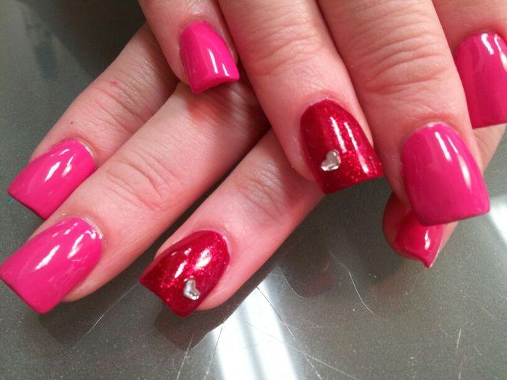 Facile nail art per San Valentino