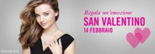 Gioielli Swarovski regalo San Valentino 2014
