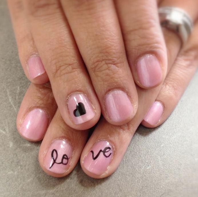Idea Nail art San per Valentino