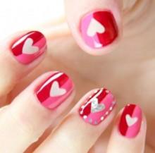 Immagini Decorazioni Unghie per San Valentino Immagini Decorazioni Unghie per San Valentino 220x217 - Idee Decorazioni Unghie San Valentino: Immagini Nail Art