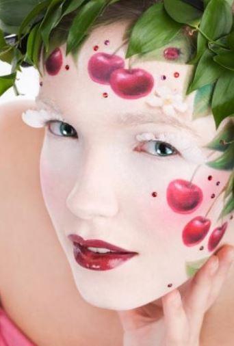 Make up viso Carnevale