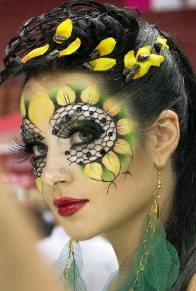 Meraviglioso trucco per Carnevale