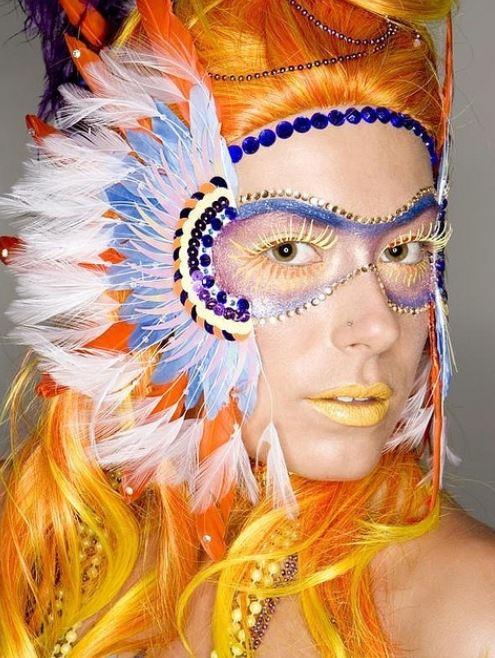 Trucco maschera per Carnevale