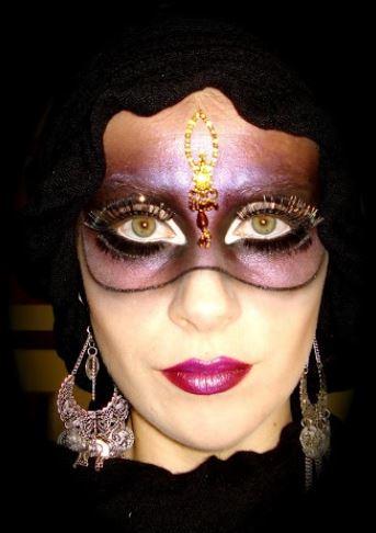 Trucco per maschera di Carnevale
