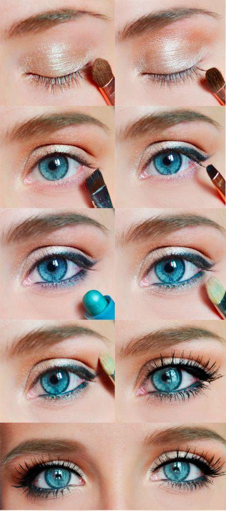 Favorito Idea come truccare gli occhi azzurri - The house of blog MV17