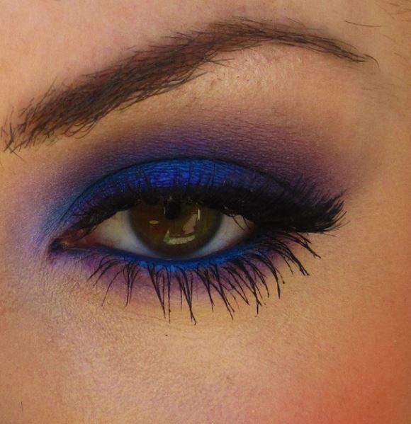 Famoso Idea trucco occhi marroni con ombretto blu - The house of blog RQ07