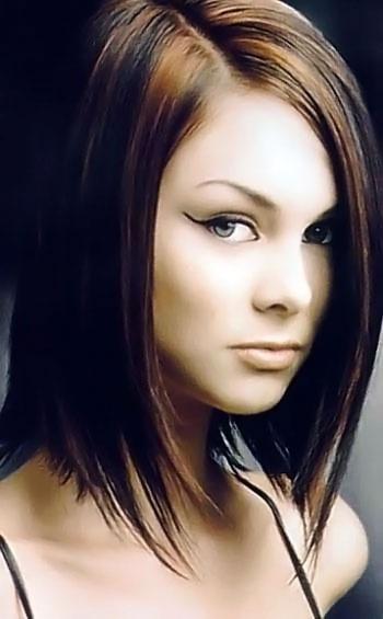 Tagli di capelli a caschetto medio