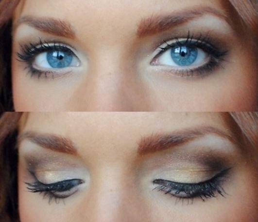 Trucco occhi azzurri da giorno Trucco occhi azzurri da giorno - Come truccare gli occhi azzurri: Foto gallery Make up Trucco occhi azzurri da giorno - Come truccare gli occhi azzurri: Foto gallery Make up