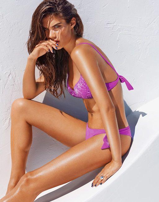 Costume da bagno push up con paillettes estate 2014 prezzi 40 e 15 euro