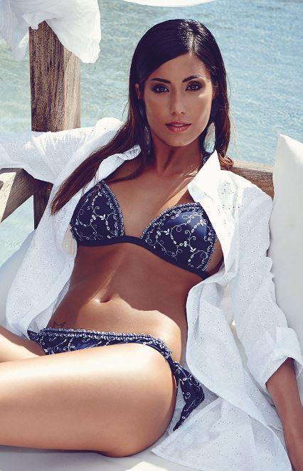 Bikini a triangolo Philippe Matignon Golden Point 2014
