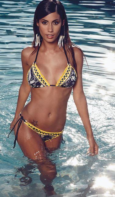Bikini con reggiseno a triangolo Philippe Matignon 2014