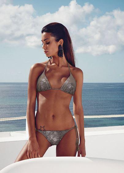 Bikini con reggiseno a triangolo Philippe Matignon Golden Point 2014