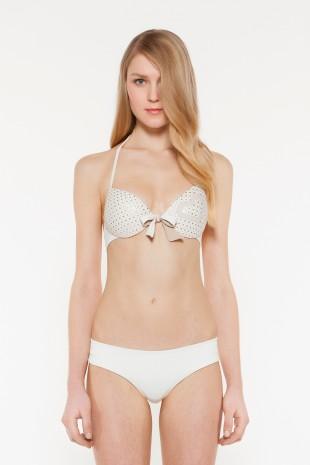 Costume con reggiseno push up e culotte Twin Set estate 2014 prezzo 119 euro