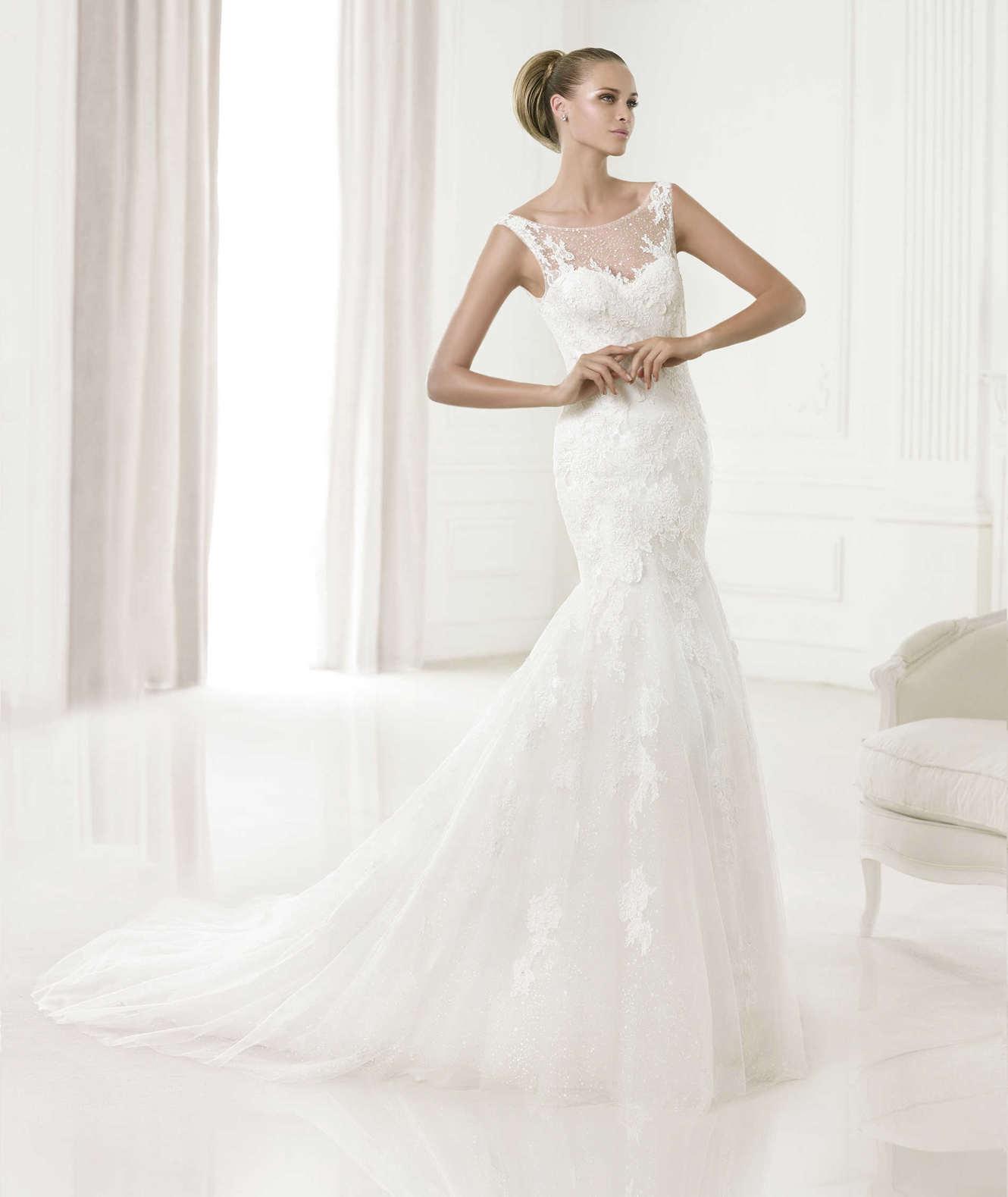 Vestiti da sposa sirena 2015