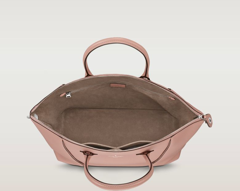 Interno nuova borsa Lockit color Magnolia Louis Vuitton ...