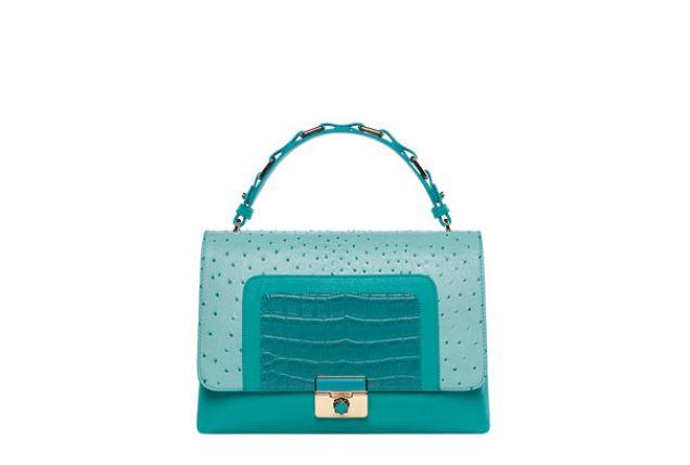 Milla s bag Tropic di Marella estate 2014 color verde acqua prezzo 128 euro