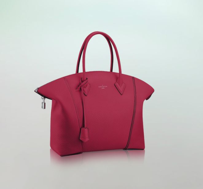 Nuova borsa Louis Vuitton estate 2014 Lockit Framboise ...