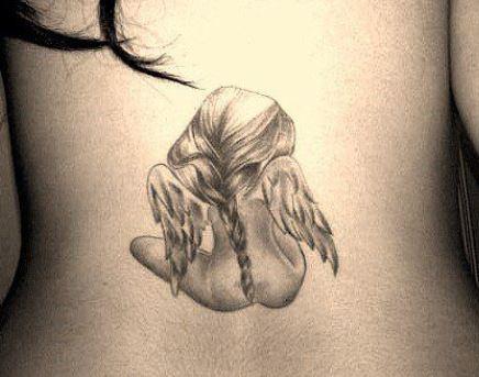 Piccolo tatuaggio angelo custode femminile Piccolo tatuaggio angelo custode femminile - Tatuaggio Angelo: Immagini e Significato Piccolo tatuaggio angelo custode femminile - Tatuaggio Angelo: Immagini e Significato