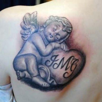 Tatuaggio angelo custode con lettere Tatuaggio angelo custode con lettere - Tatuaggio Angelo: Immagini e Significato Tatuaggio angelo custode con lettere - Tatuaggio Angelo: Immagini e Significato