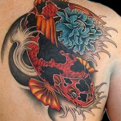 Foto tatuaggio carpa koi giapponese the house of blog for Carpa giapponese prezzo
