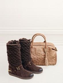 Collezione borse scarpe e stivali Twin Set inverno 2014 2015
