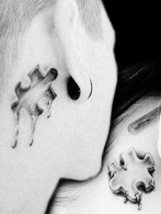Tatuaggio puzzle foto e significato the house of blog for Coppia di fatto significato