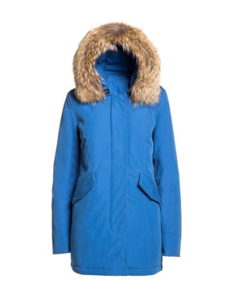 Arctic Parka DF donna Woolrich inverno 2014 2015 prezzo 639 euro Byrd Arctic Parka slim fit Woolrich Royal blue inverno 2014 2015 prezzo 799 euro - Byrd Arctic Parka slim fit Woolrich Royal blue inverno 2014 2015 prezzo 799 euro
