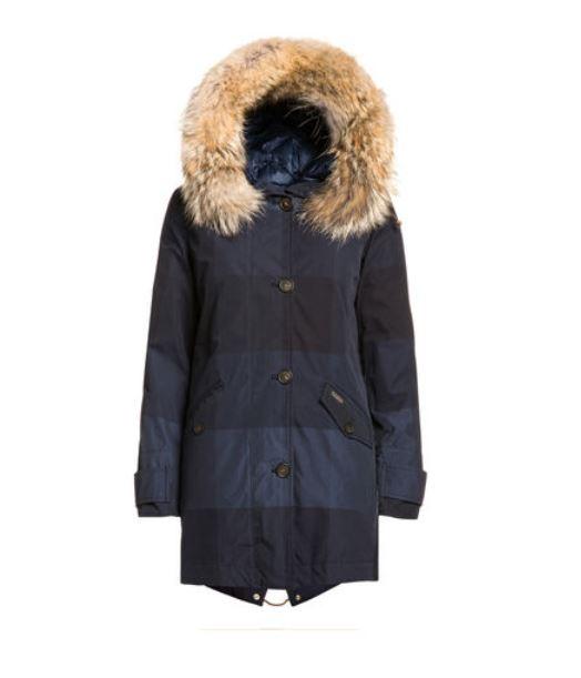 Byrd Check Eskimo Woolrich donna inverno 2014 2015 prezzo 849 euro