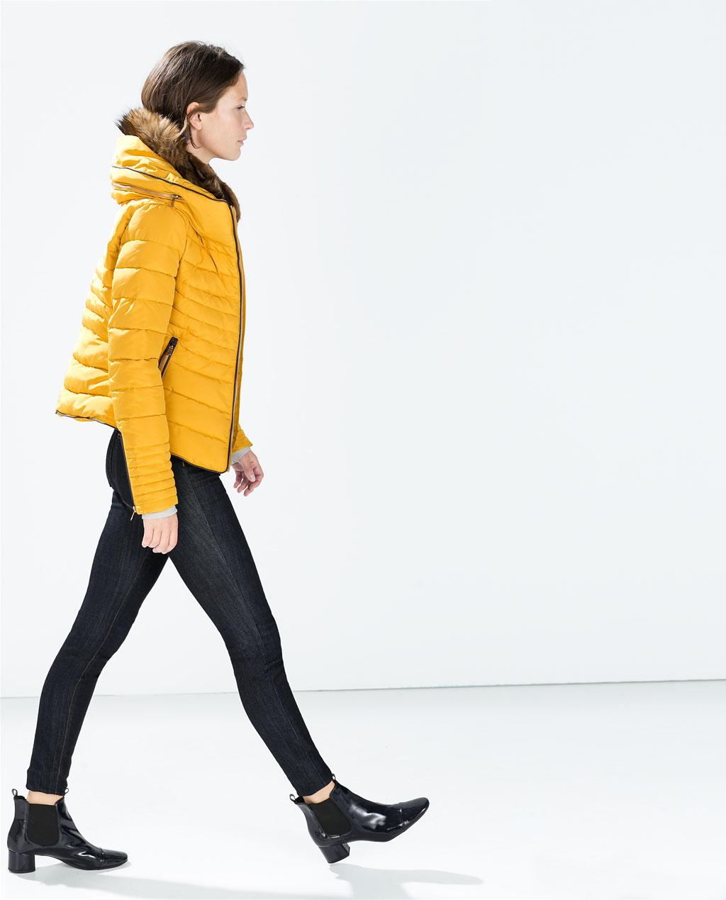 Piumini e Cappotti Zara inverno 2014 2015: Catalogo Prezzi