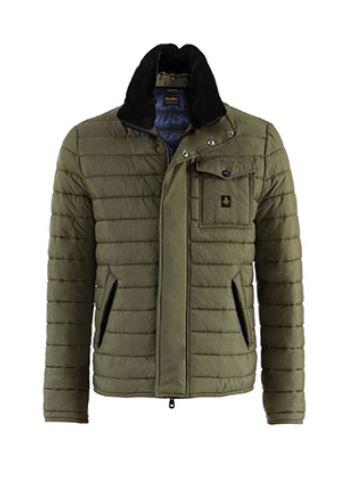 Piumino corto Refrigiwear uomo inverno 2015 mod Peak jacket prezzo 389 euro