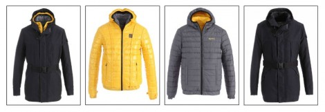 Piumino reversibile Refrigiwear uomo 4 in 1 inverno 2015 mod One Jacket